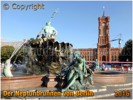 Der Neptunbrunnen von Berlin [September 2016]