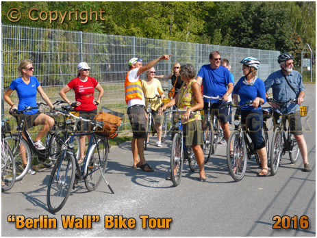"Berlin on Bike : ""Berlin Wall"" Bike Tour [September 2016]"