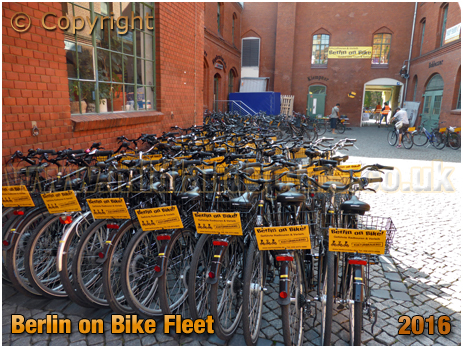 Berlin on Bike Fleet [September 2016]