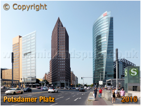 Berlin : Potsdamer Platz [September 2016]