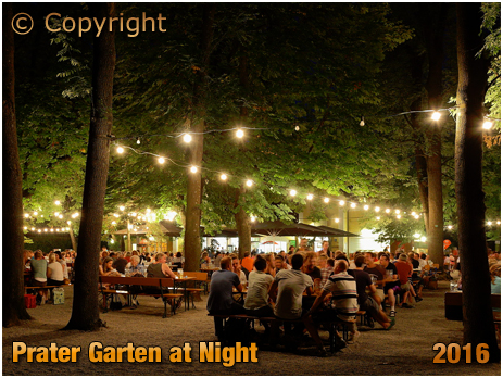 Berlin : Evening at Prater Garten and Gaststätte at Kastanienallee 7-9 [September 2016]