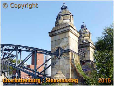 Berlin : Siemenssteg at Charlottenburg [September 2016]