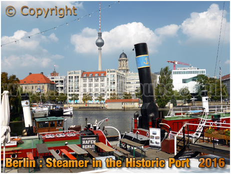 Berlin : Steamer Andreas - Flagship in the Historic Port [September 2016]