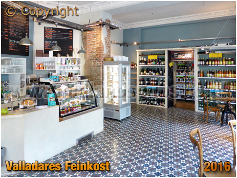 Berlin : Interior of Valladares Feinkost at Stephanstraße [September 2016]