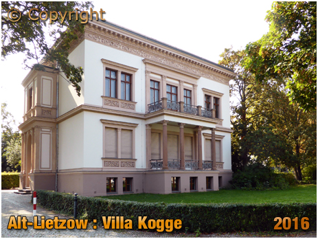 Berlin : Villa Cogge at Alt-Lietzow in Charlottenburg [September 2016]