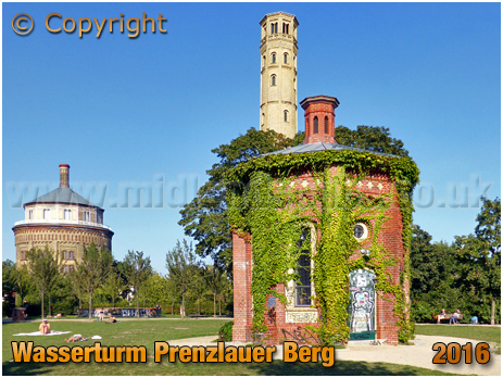 Berlin : Wasserturm Prenzlauer Berg [September 2016]
