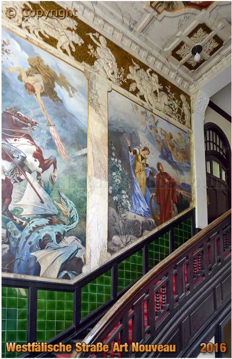 Berlin : Art Nouveau inside Westfälische Straße 37 [September 2016]