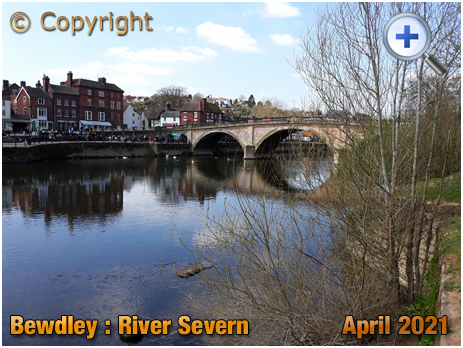 Bewdley : River Severn and Bridge [2021]