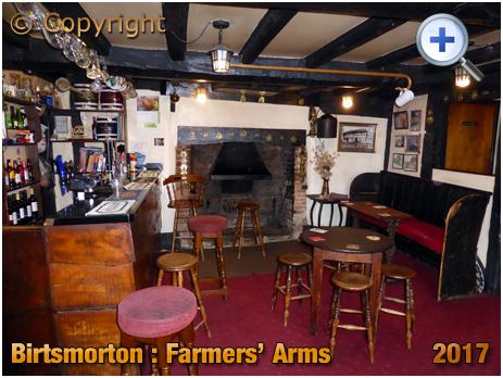 Birtsmorton : Interior of the Farmers' Arms [2017]