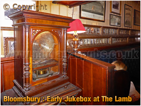 Bloomsbury : Polyphon inside The Lamb in Lambs Conduit Street [2018]