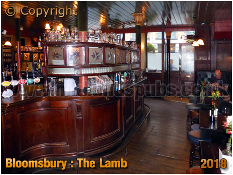 Bloomsbury : Servery of The Lamb in Lambs Conduit Street [2018]