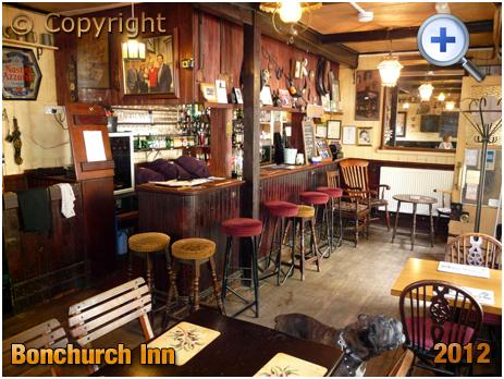 Isle of Wight : Bar of the Bonchurch Inn [2012]