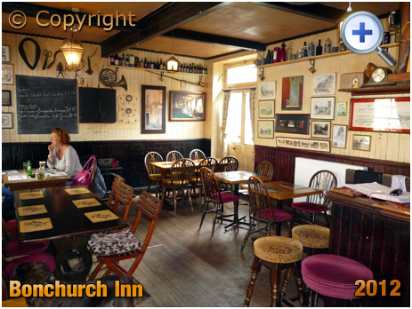 Isle of Wight : Interior of the Bonchurch Inn [2012]