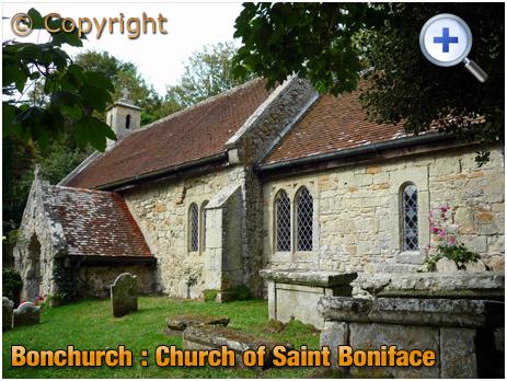 Isle of Wight : Church of Saint Boniface at Bonchurch [2012]