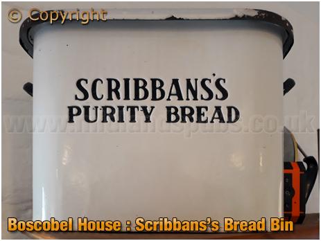 Scribbans's Bread Bin at Boscobel House 1940s Tea Room [2018]