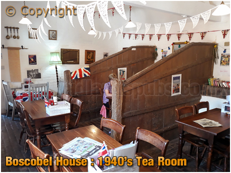 Boscobel House 1940s Tea Room [2018]