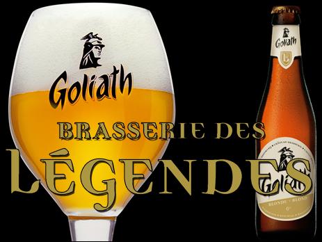 Brasserie des Légendes : Goliath Blonde
