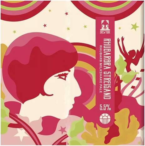 Brew York : Rhubarbra Streisand