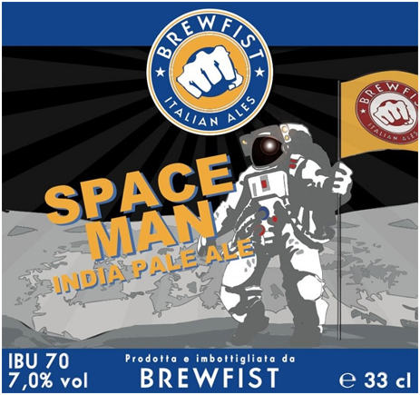 Birrifico Artigianale Brewfist Spaceman West Coast IPA