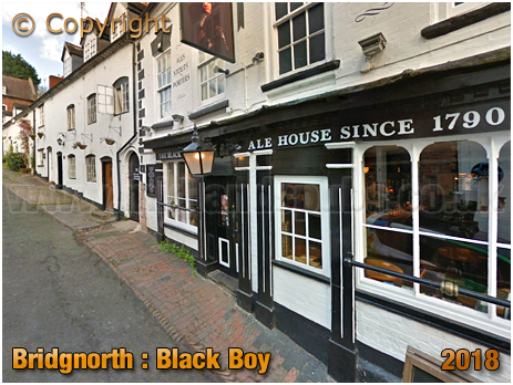 Bridgnorth : The Black Boy on Cartway [2018]