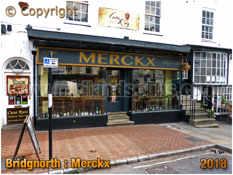 Bridgnorth : Merckx Belgian Bar [2018]