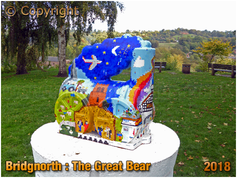 "Bridgnorth : ""The Great Bear,"" on ""Catch-Me-Who-Can"" Locomotive Art Trail [2018]"