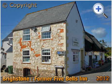 Isle of Wight : Former Five Bells Inn at Brighstone [2012]