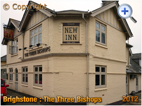 Isle of Wight : The Three Bishops [formerly the New Inn] at Brighstone [2012]