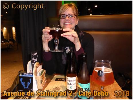 Café Bebo at Avenue de Stalingrad 2 in Brussel