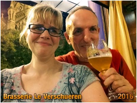 Brussel : Brasserie Le Verschueren at Sint-Gillisvoorplein [September 2016]