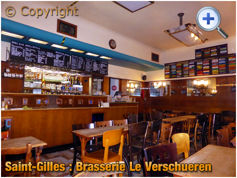 Brussel : Brasserie Le Verschueren at Sint-Gillisvoorplein [September 2016]