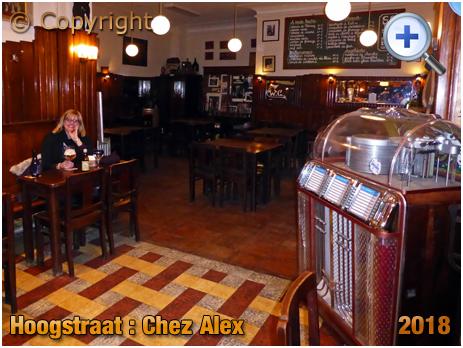 Brussel Hoogstraat : Inside Chez Alex at Rue Haute 224 [2018]