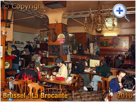 Brussel Vossenplein : Interior at La Brocante at Place du Jeu de Balle [2018]