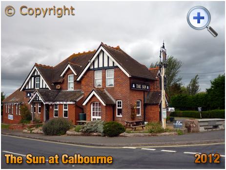 Isle of Wight : The Sun Inn at Calbourne [2012]
