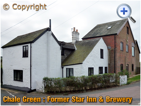Isle of Wight : Former Star Inn and Sprake's Brewery at Chale Green [2012]