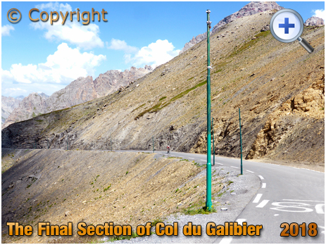 Final Section of the Col du Galibier [2018]