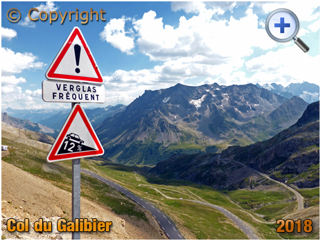 Southern Road of the Col du Galibier [2018]