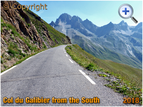 Col du Galibier from The South [2018]