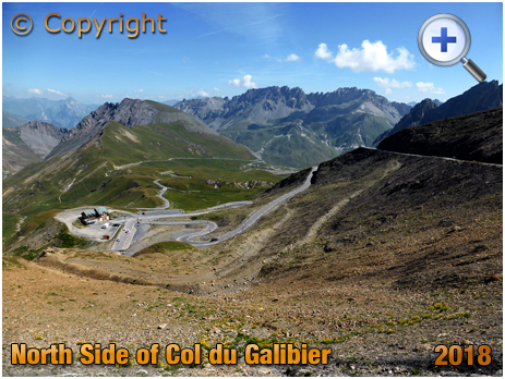 The Col du Galibier from Valloire [Photo by Muneaki]