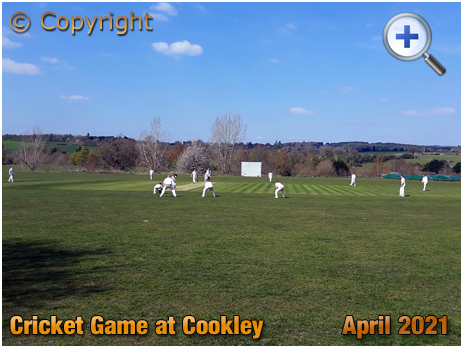 Cookley : Cricket Second XI playing Cleobury Mortimer [2021]