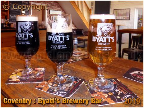 Coventry : Byatt's Brewery Bar [2019]
