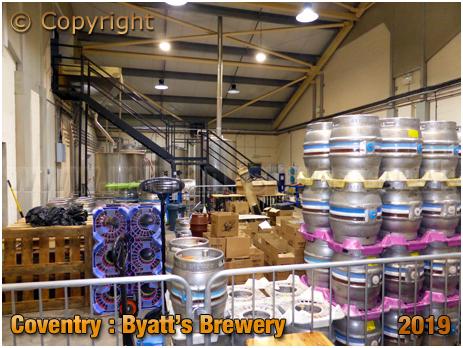 Coventry : Inside Byatt's Brewery [2019]