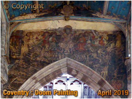 Coventry : Doom Painting in Holy Trinity Church [2019]