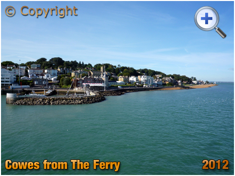 Isle of Wight : Cowes from The Ferry [2012]