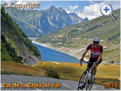 Cycling up the Col de la Croix de Fer [2018]