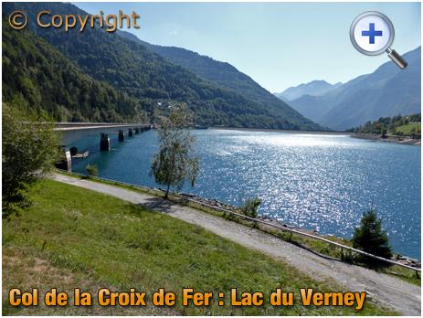 Road Bridge across Lac du Verney on the Col de la Croix de Fer [2018]