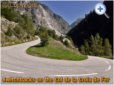 Switchbacks on the Col de la Croix de Fer [2018]