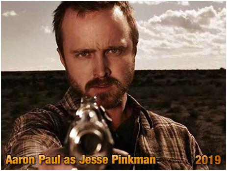 "Aaron Paul as Jesse Pinkman in ""El Camino"" [October 2019]"