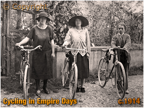 Cycling in Empire Days [c.1914]