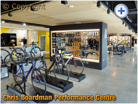 Evesham : Concept Store at the Chris Boardman Performance Centre [2018]